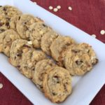 Bright cranberry and white chocolate flavors and a dough sweetened with coconut flakes make this oatmeal cookie stand out above many others.