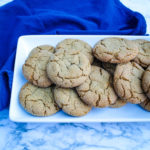 Molasses Cookies are a holiday classic. This copycat version of the cookie sold at a popular coffee shop is slightly crispy on the outside and super soft on the inside, making it one of our favorite versions of the cookie.