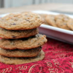 Graham Cracker Chocolate Chip Cookies are a fun twist on an American classic. Add an element of the unexpected to your holiday cookie swap or cookie platter by serving these soft, sweet cookies.