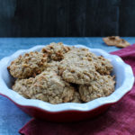 Apple-Toffee Oatmeal Cookies are a sweet fall twist on a classic cookie.