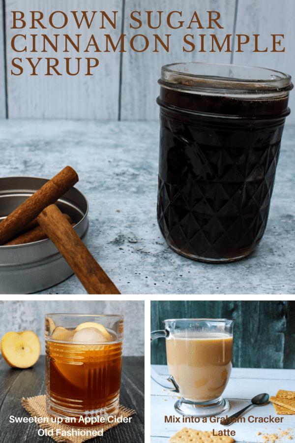 Cinnamon Brown Sugar Simple Syrup on Books n' Cooks