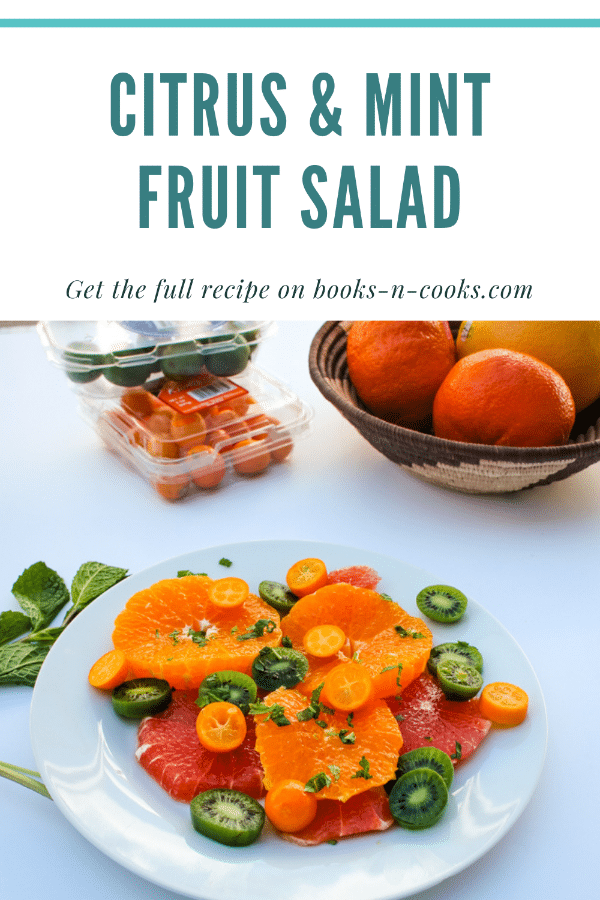 Citrus & Mint Fruit Salad highlights late winter and early spring citrus along with kiwi fruit - all naturally sweet and tart fruits with just a hint of mint. A light, bright start to your day or afternoon snack!